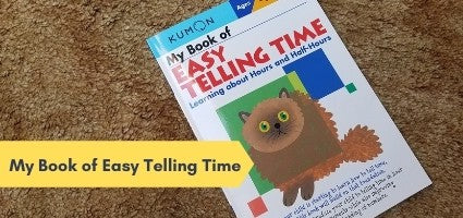 My Book of Easy Telling Time Review by Laura Noelle