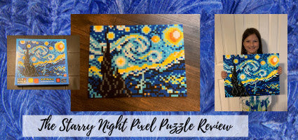 Starry Night Pixel Puzzle Review by Cummins Life