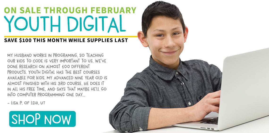 Save $100 on Youth Digital!