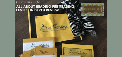 All About Reading Pre-Reading Review by Cummins Life