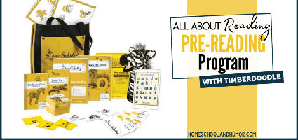 All About Reading Pre-Reading Review by Homeschool and Humor