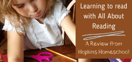 All About Reading 1 Review by Hopkins Homeschool