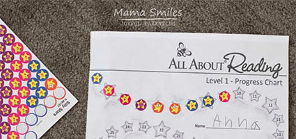 All About Reading 1 Review by Mama Smiles