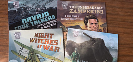 Amazing World War II Stories Review by Mommy Octopus