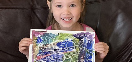 Aquarellum Cosmos review by One Luckey Wife