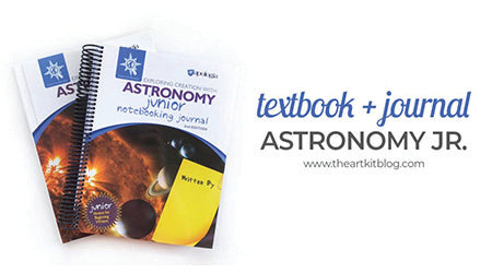 Exploring Creation with Astronomy Review by The Art Kit