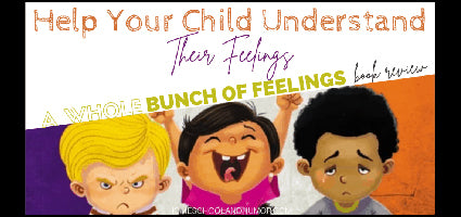 A Whole Bunch of Feelings Review by Homeschool and Humor