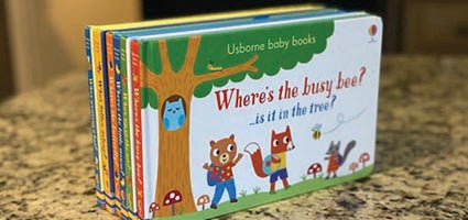 Baby Books Set of 6 Review by Homeschool and Humor