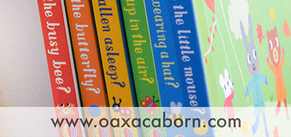 Baby Books Set of 6 Review by The Oaxacaborn Blog