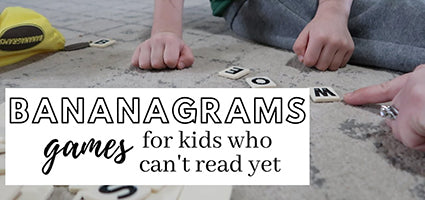 Big Letter Bananagrams Review by The Coulter Coop