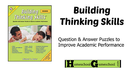 Beginning Thinking Skills Review by Homeschool Gameschool