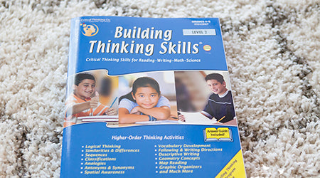 Building Thinking Skills 2 Review by The Heather O'Steen
