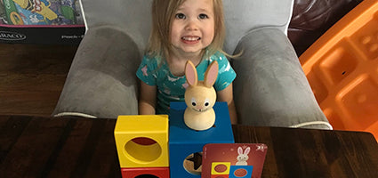 Bunny Peek-a-Boo Review by One Luckey Wife