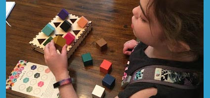 Chroma Cube Review by Homeschooling Happenings