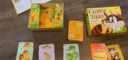 Clumsy Thief Junior Review by Mommy Octopus