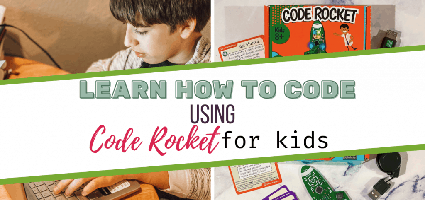Code Rocket Review by Homeschool and Humor