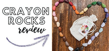 Crayon Rocks Review by The Coulter Coop