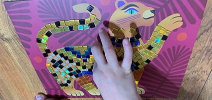 Deep in the Jungle Sticker Mosaic Kit Review by One Luckey Wife