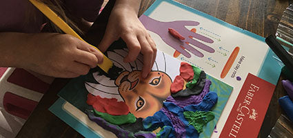 Do Art Coloring with Clay Review by One Luckey Wife