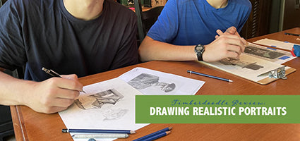 Drawing Realistic Portraits from Photographs DVD Review by Flanders Family Homelife