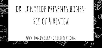Dr. Bonyfide Presents Review by Homework and Horseplay