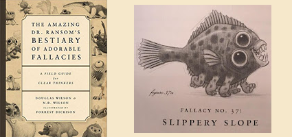 The Amazing Dr. Ransom's Bestiary of Adorable Fallacies Review by Homeschool Happenings