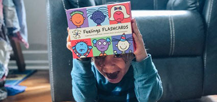 Feelings Flashcards Review by The Learning Momma