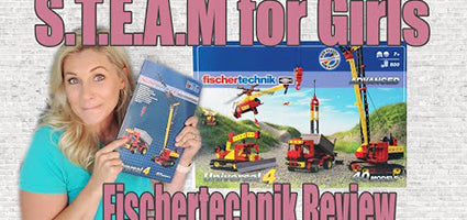 Fischertechnik Advanced Universal 4 with Engineer Review by Making Everyday Magic