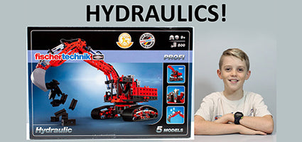 Fischertechnik Profi Hydraulic with Engineer Review by  Quad Squad