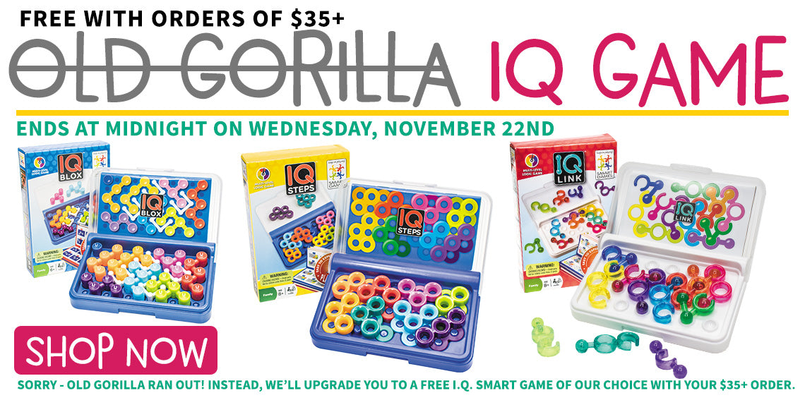 Free IQ Game With Orders $35+
