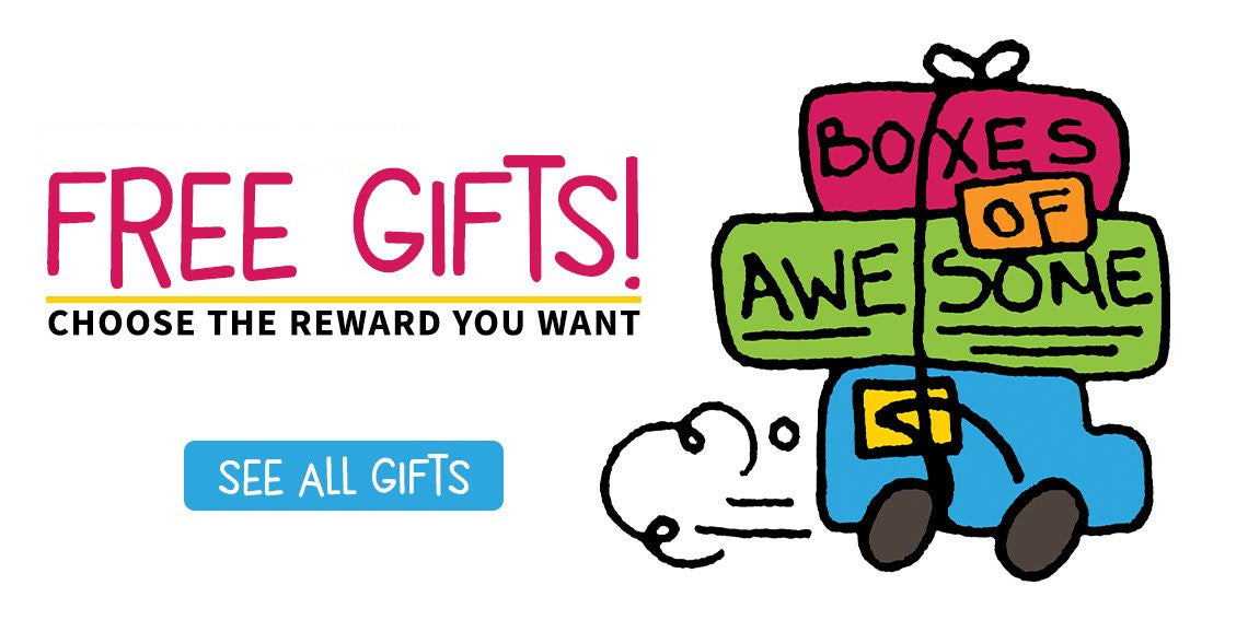 Free Gifts! Choose the reward you want