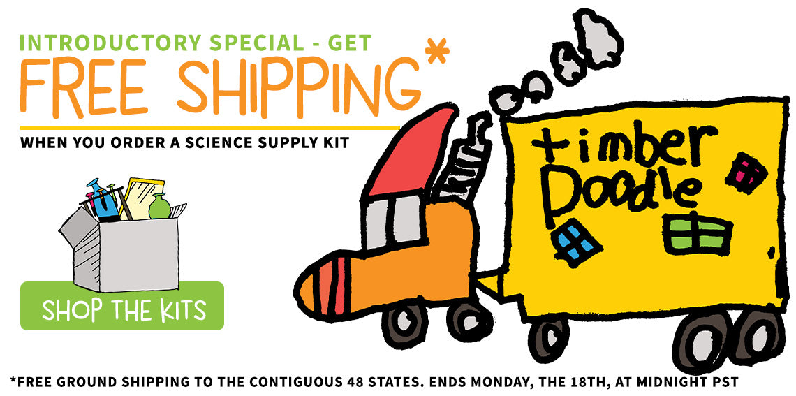 Unopen Science! Simply open and go. Check out our new science kits.