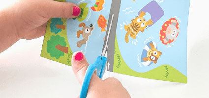 Kumon Cutting Skills Review by Thanks Mommy