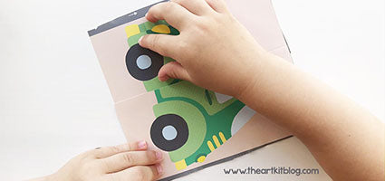 Kumon Cutting Skills Review by The Art Kit