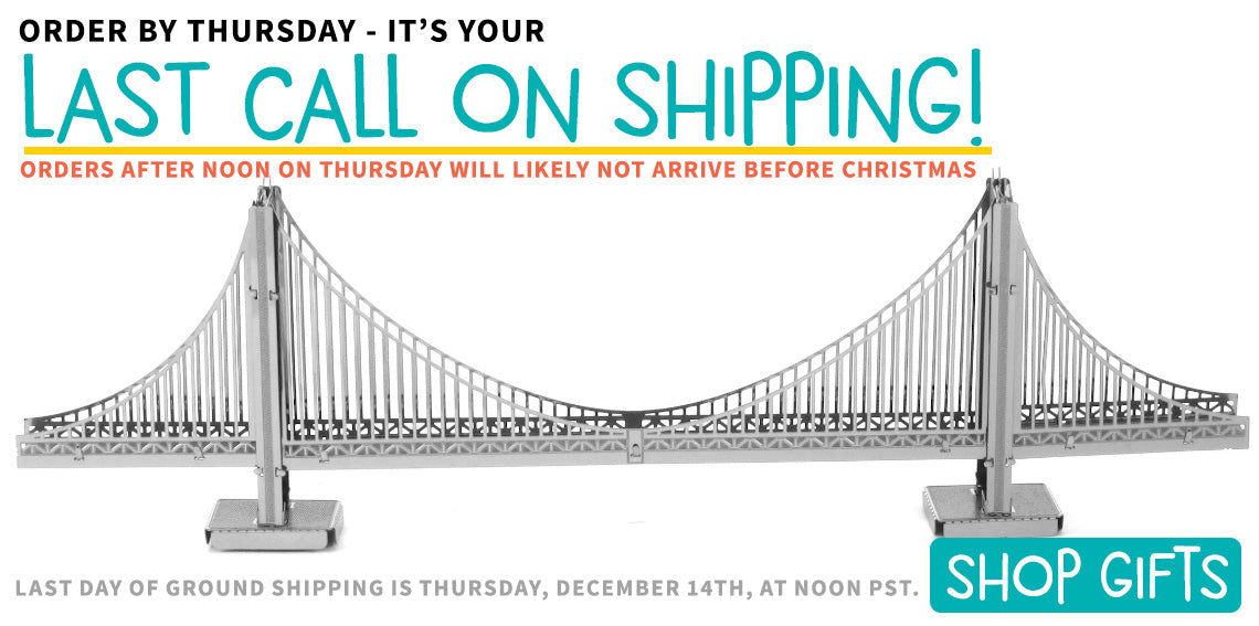 Last Call for Ground Shipping!