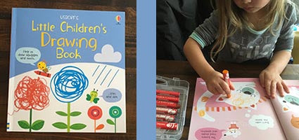 Little Children's Drawing Book Review by One Luckey Wife
