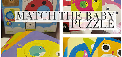 Match the Baby Review by She's Just a Mom
