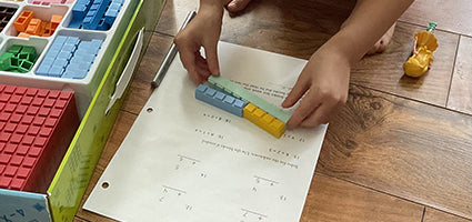 Math-U-See Alpha Review by One Luckey Wife
