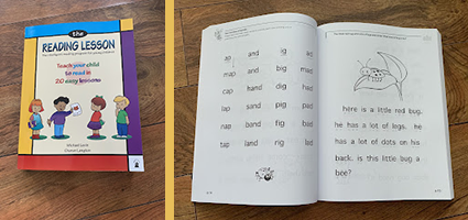 The Reading Lesson Book Review by One Luckey Wife