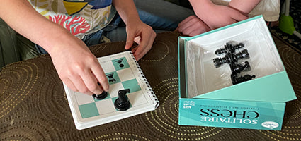 Solitaire Chess Review by Cosmic Montessori School