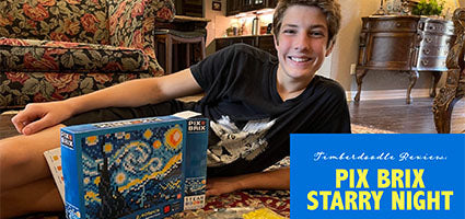 Starry Night Pixel Puzzle Review by Flanders Family