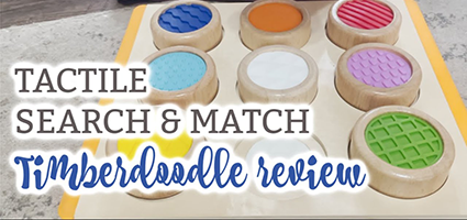 Tactile Search and Match Review by Coulter Coop