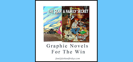 The Search and A Family Secret Graphic Novels Review by Family, Faith, and Fridays