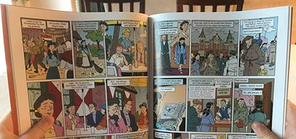 The Search and A Family Secret Graphic Novels Review by Bible Momma