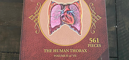 Dr. Livingston's Anatomy Jigsaw Puzzle: The Human Thorax Review by Just a Mom Trying to Make It Happen