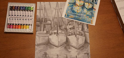 TwoStick Shadows Paint Kit: Boats Review by Andrea Beam