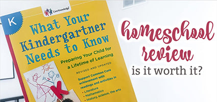 What Your Kindergartener Needs to Know Review by The Coulter Coop
