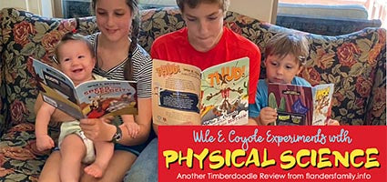 Wile E. Coyote Physical Science Genius Review by Flanders Family Homelife