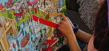 My Big Wimmelbook - Fire Trucks! Review by Thanks Mommy