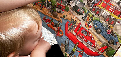 My Big Wimmelbook - Fire Trucks! Review by The M Word